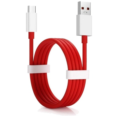 SClout Dash Compatible Fast Charging and Sync USB Type C Cable Suitable for One Plus All Type C Devices (Dash Cable, RED) (oneplus Dash Cable(RED))