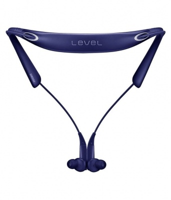 Samsung Level U Pro Bluetooth Wireless In-ear Headphones with Microphone and UHQ Audio (Blue, Black)