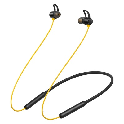 Realme Buds Wireless in-Ear Bluetooth with mic (Yellow Black)