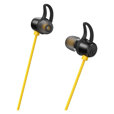 Realme Buds Wireless In Ear Bluetooth With Mic Yellow Black