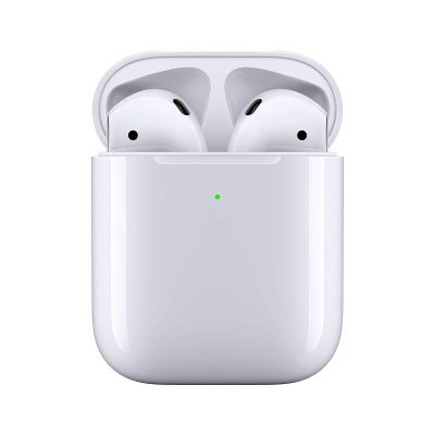 Apple AirPods 2 with Wireless Charging Case (White)