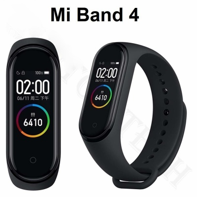 M4 Smart Fitness Band (Black)