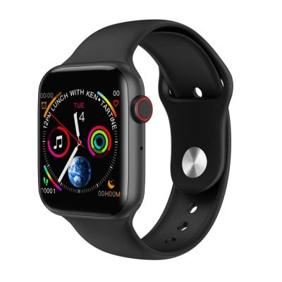 SClout W34 Bluetooth Smart Watch (Black, White)