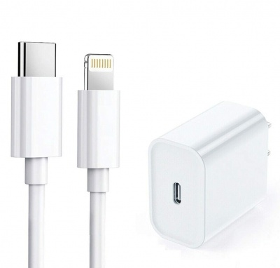 Apple Type-C 20W Power Adapter with Fast Charging & Data Sync USB Type-C to Lightning Cable Compatible with iPhone 11 PRO/ 11 PRO MAX/iPads