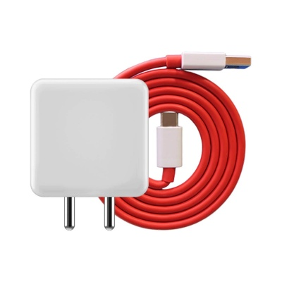 Sclout Dash Charger Adapter and Type C Cable for One Plus 3, 5, 6 and 7 Dash Charger Type c Cable Dash Charger for oneplus Type c Charger with Adapter